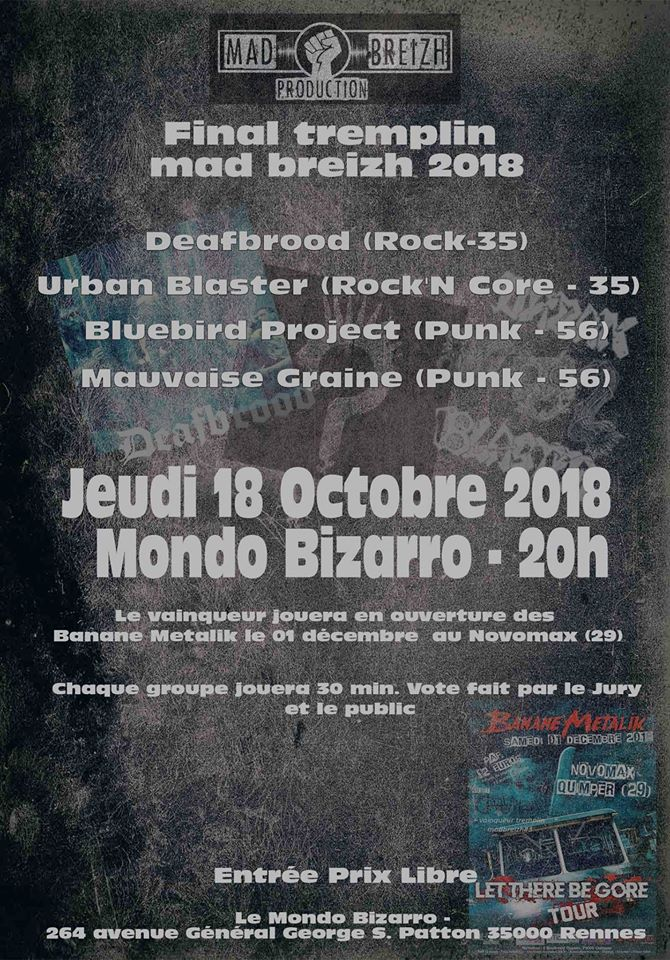 FINAL TREMPLIN MAD BREIZH 2018