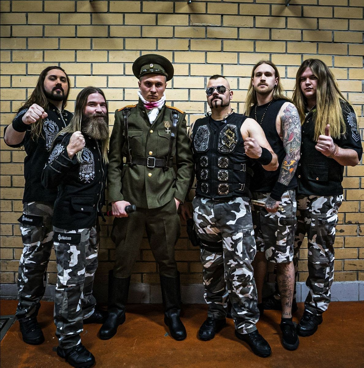 "SABATON / News : Vidéo live de ""The Attack of the Dead Men"" featuring Radio Tapok (Live in Moscow)"