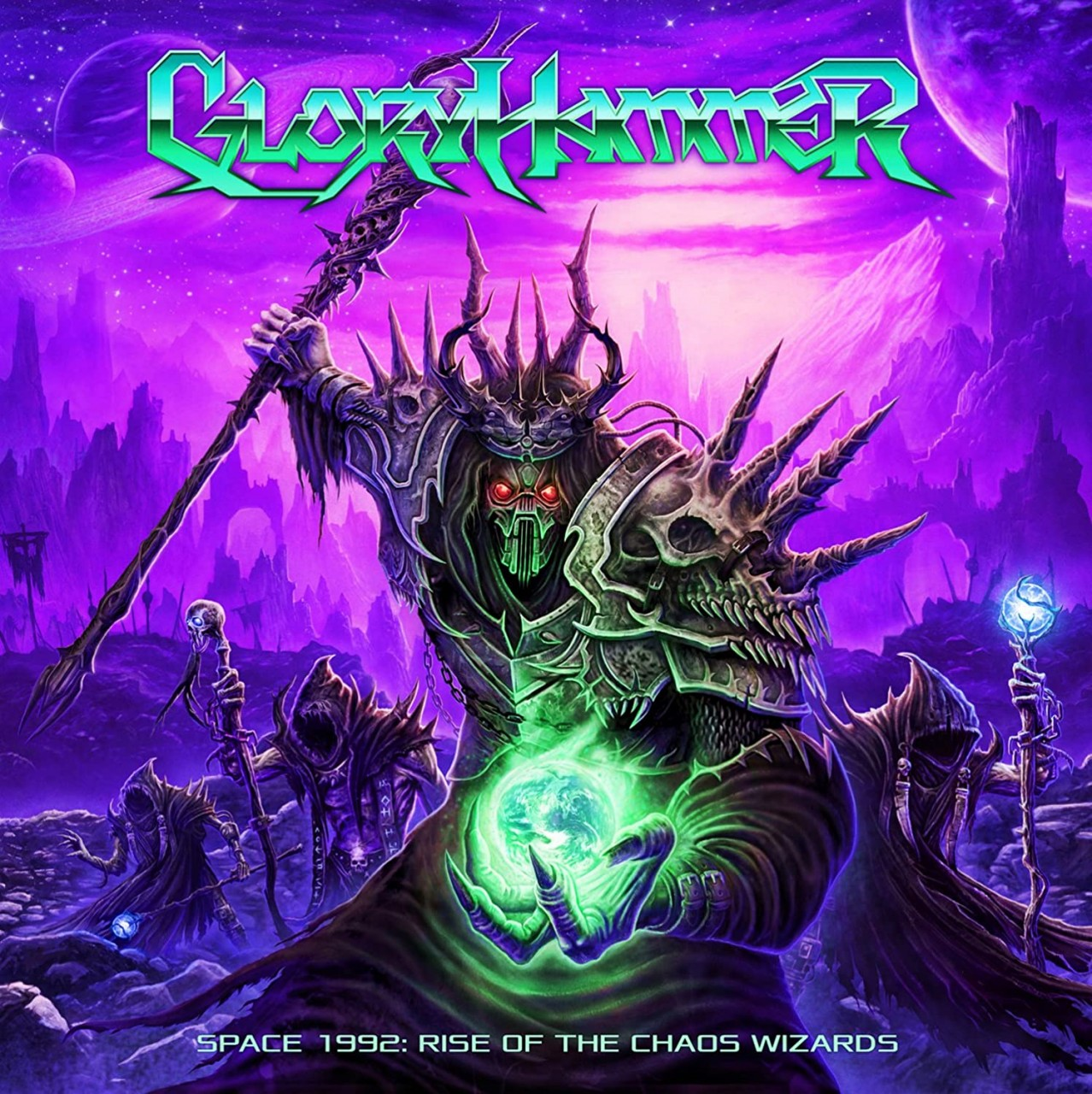 Rétro-chronique: Gloryhammer - Space 1992 : Rise of the chaos Wizards
