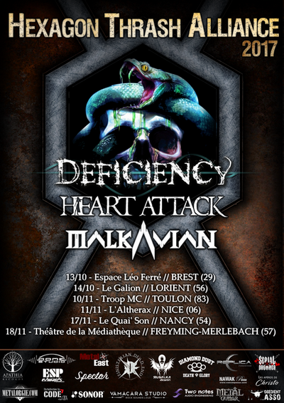 DEFICIENCY News/ prochaines dates